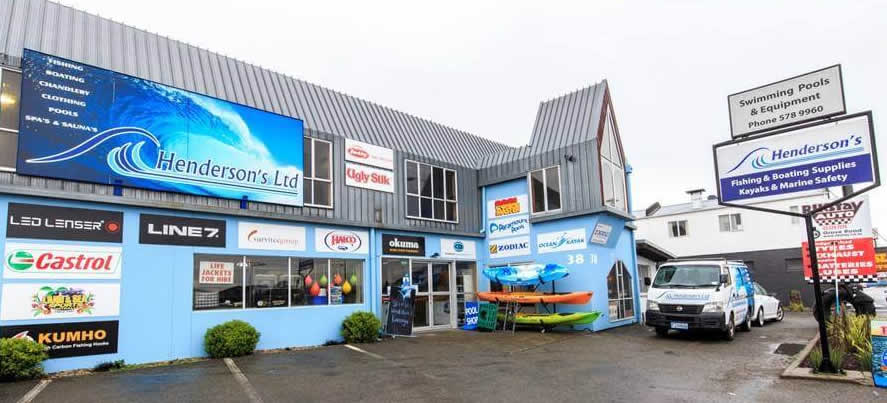 Hendersons Ltd Boating And Chandlery Store In Blenheim NZ