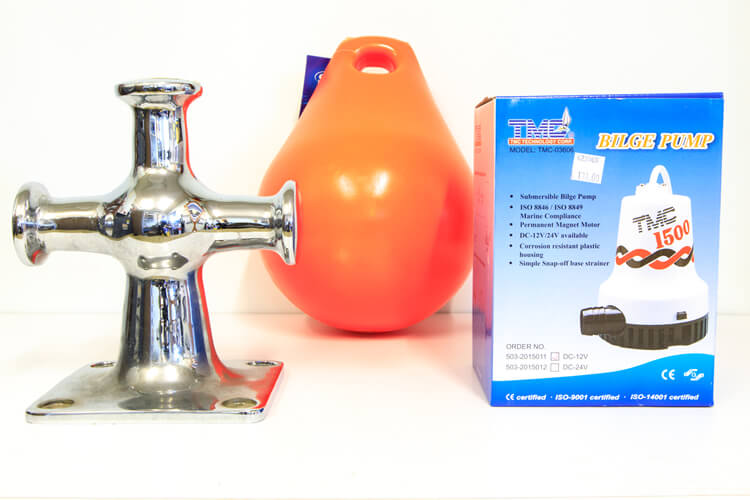 Boating Chandlery Supplies Are Sold At Hendersons Ltd In Blenheim NZ